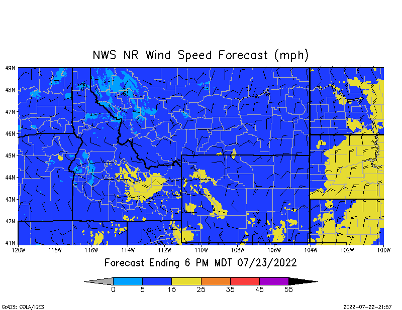 NR Wind Speed